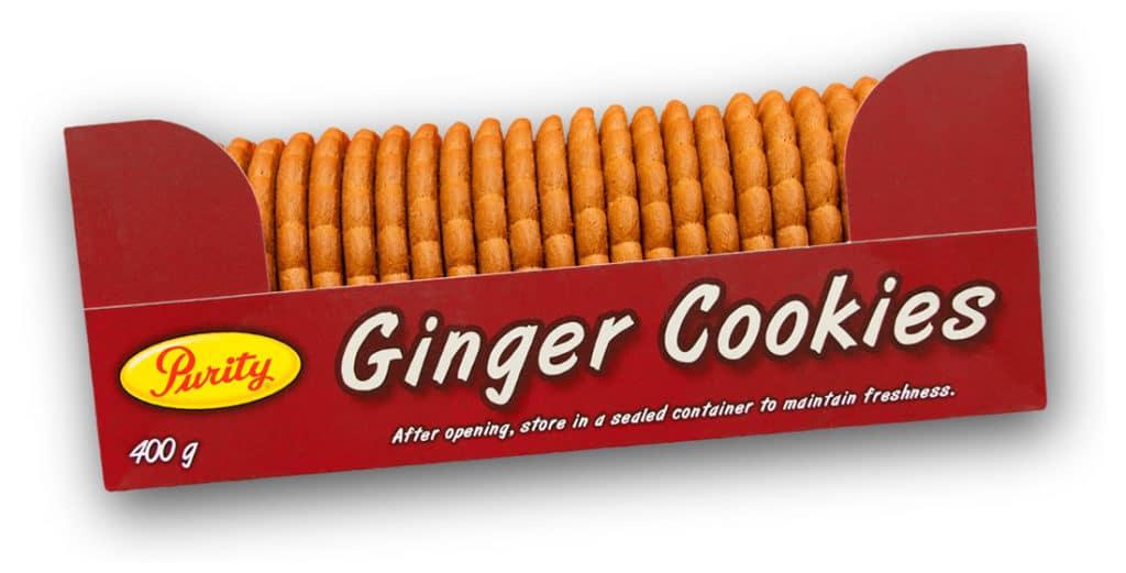 Purity Ginger Cookies
