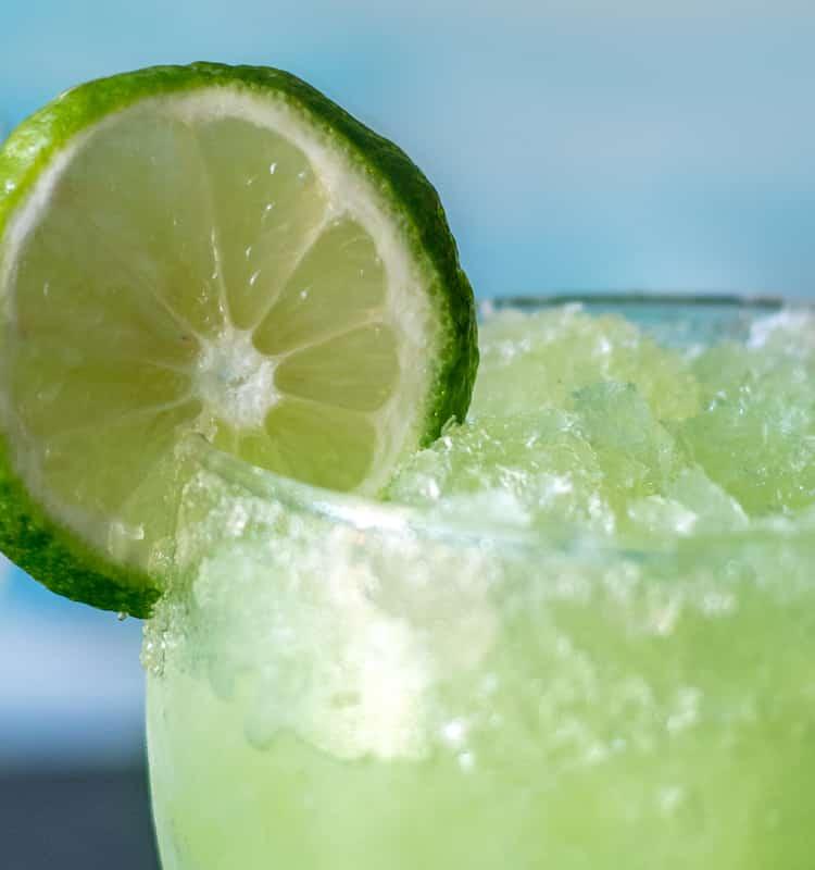 Frozen Lime Margarita