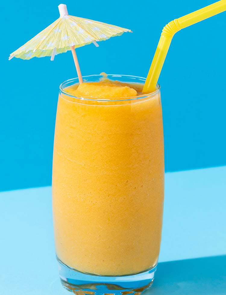 Pineapple Syrup Slush